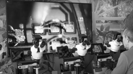 Инструктаж и обучение работе на микросварочном оборудовании